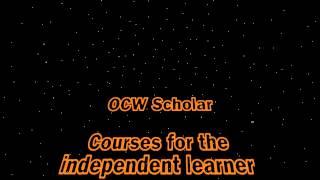 OCW Scholar Wisdom by Obi-Six OCW