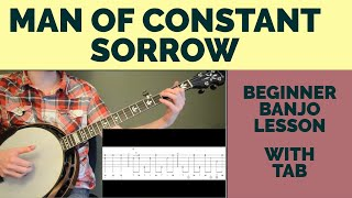 Download Man of Constant Sorrow Beginner Banjo Lesson MP3 song and Music Video