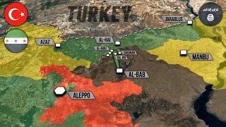 8 ноября 2016 года. Военная обстановка в Сирии. САА наступает восточнее Пальмиры. Русский перевод.