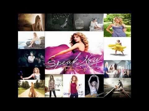 Taylor Swift Speak Now Mashup