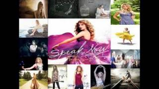 Taylor Swift Speak Now Mashup