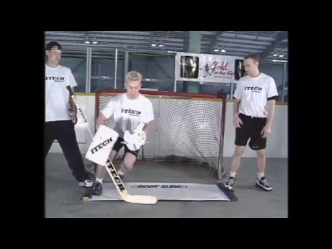 Explosive Power: Swiss Ball & Slide Board - Ice Hockey Goalie Training