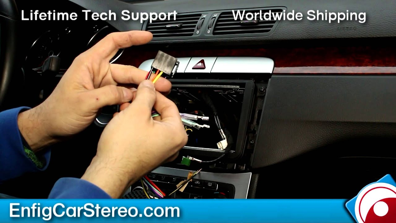 maxresdefault radio install vw cc 2010 2015 youtube Generator Wiring Diagram at crackthecode.co