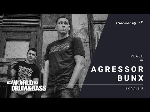 AGRESSOR BUNX live World of Drum&Bass @ Pioneer DJ TV