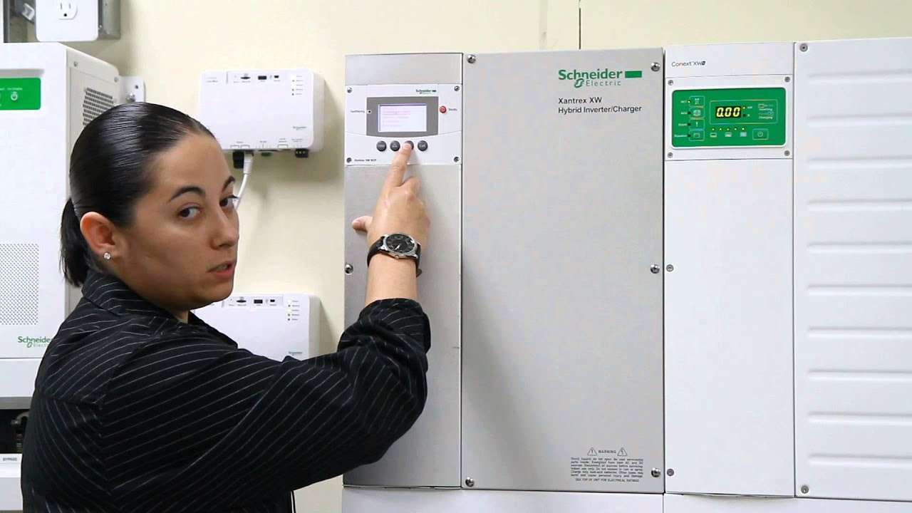 Enabling Sell Mode on the Xantrex XW Hybrid Solar Inverter/Charger |  Schneider Electric Support