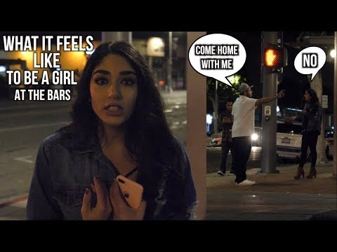 When you leave a HOT GIRL ALONE at the CLUB! (Social Experiment) streaming vf