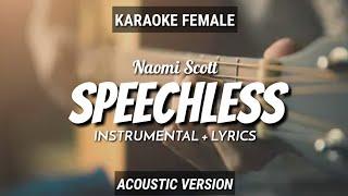 Naomi Scott - Speechless (OstAladdin) Instrumen+Lyrics (Vocal Female)