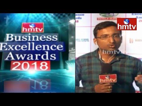 hmtv Business Excellence Awards 2018 Event Today At 7PM | Hotel Taj Krishna | hmtv News