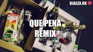 QUE PENA REMIX - J BALVIN ✘ MALUMA ✘ DJ ALEX [FIESTERO REMIX]