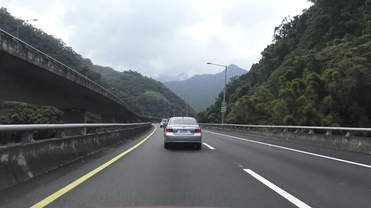 國道五號 蔣渭水高速公路 臺北-宜蘭 6倍速度 縮時攝影 路程景 - YouTube