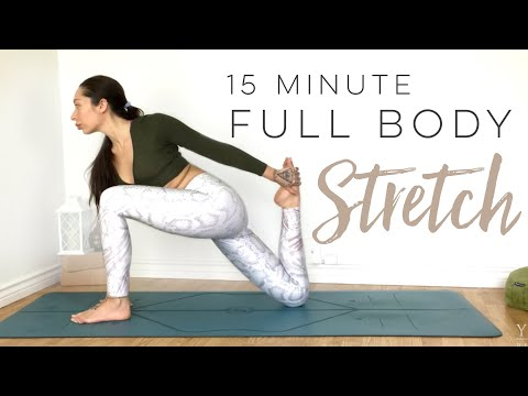 Total Body Yoga Deep Stretch | 15 Minute Yoga