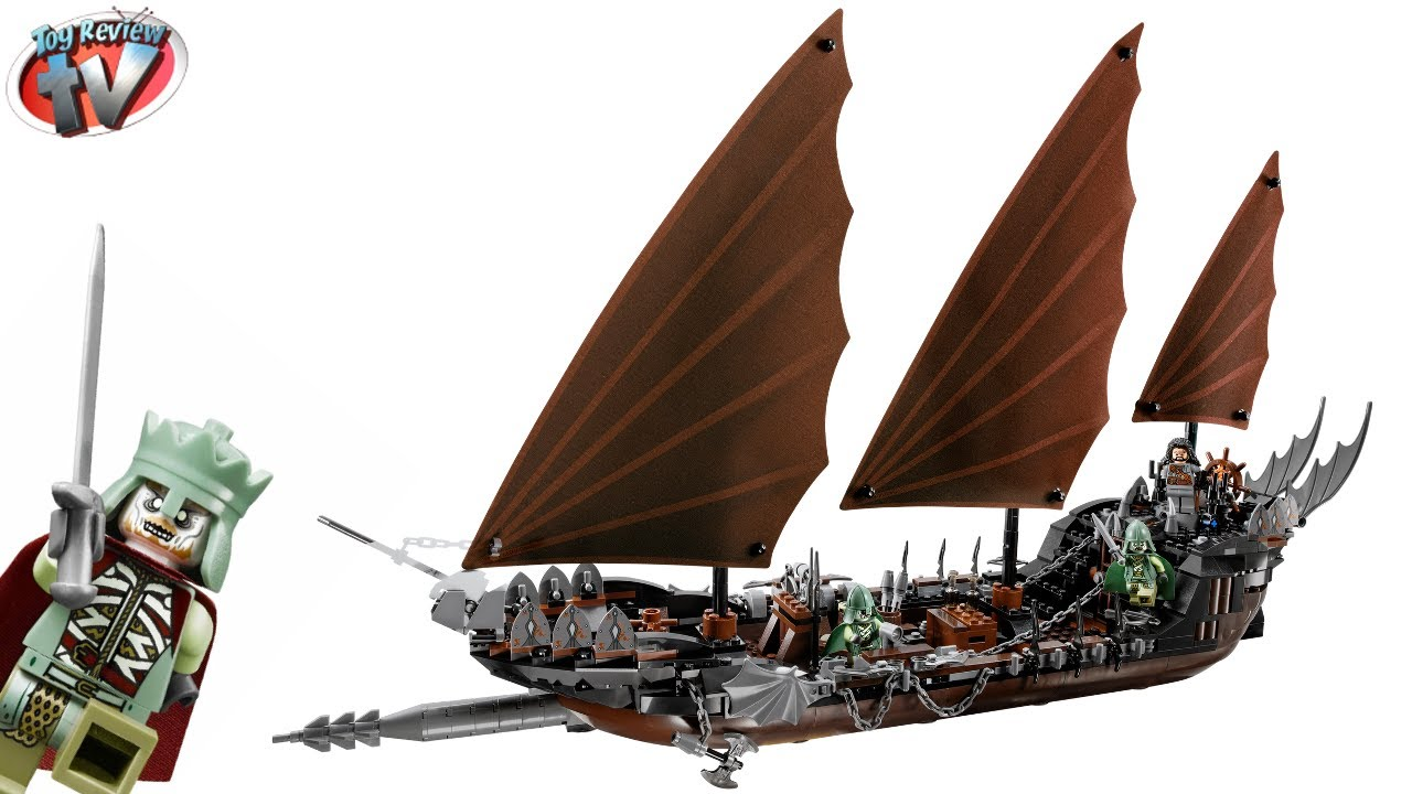 LEGO Ideas - Lothlórien Swan Ship - Lord of the Rings