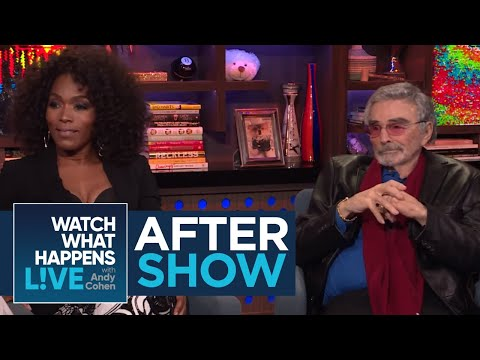 After Show: Angela Bassett Rates Lady Gaga's Kiss   WWHL