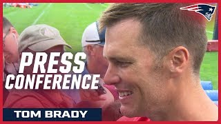 """Tom Brady: """"We're working everyday to get better"""""""