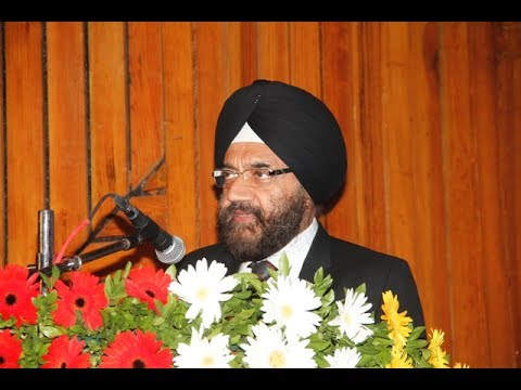 Jagjeet Singh Uppal, Principal Officer Mercantile Marine Department During Day of the Seafarers 2017