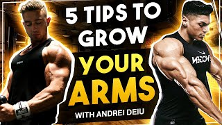 HOW TO GET BIG ARMS  | Huge Arm Workout with Andrei Deiu - USA Vlog²