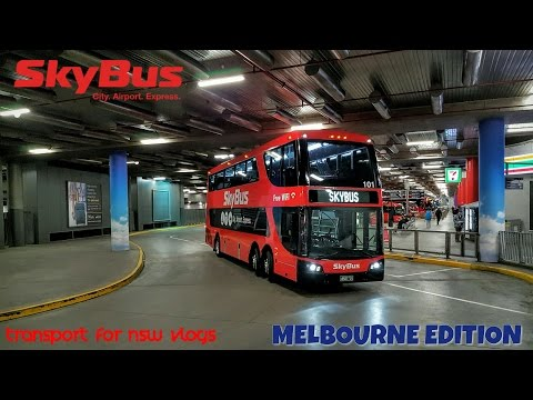 Melbourne Edition 15: SkyBus Terminal - Southern Cross