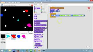 Scratch - Make an Asteroids Game - 08 - Changing The Size of an Enemy
