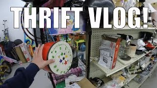 Thrift Store Shopping for Resale Online - Timing Matters!