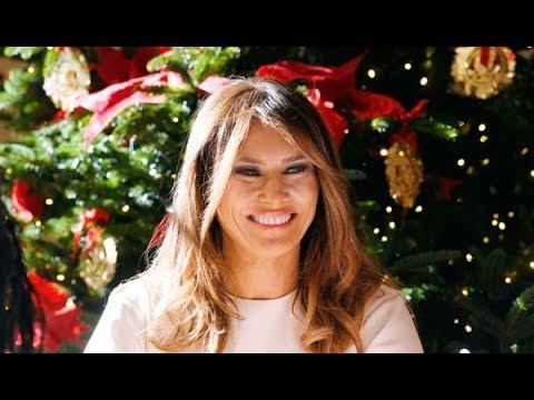 Melania trump y su 39 excesiva 39 decoraci n para la navidad for Casa diez decoracion