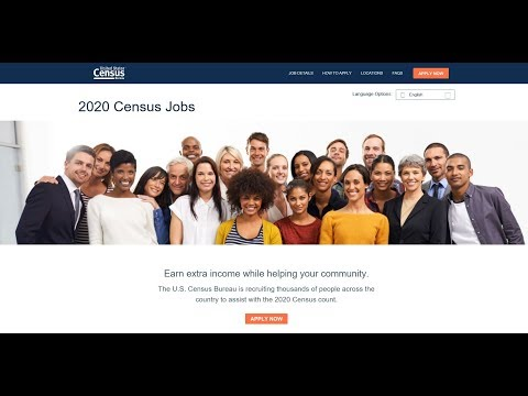 Michael J. - With 2020 Census beginning, 2.7 million jobs need to be filled! Apply here.