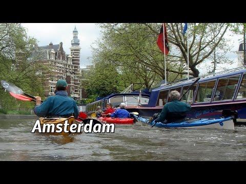 Amsterdam  Grachtenfahrten per Kayak