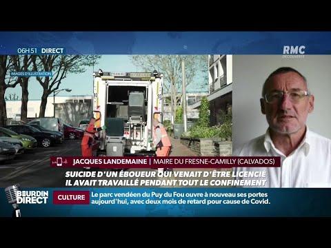 Licencié pour avoir bu deux bières offertes durant son service, un éboueur se suicide en Normandie
