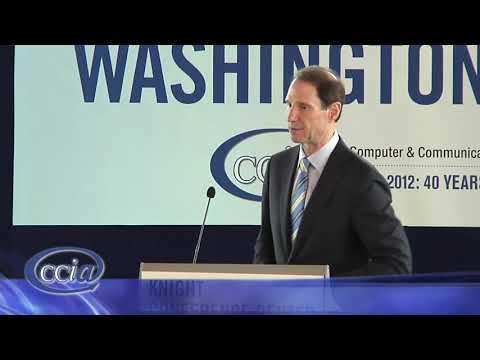 Senator Ron Wyden Speaking At The CCIA 2012 Washington Caucus