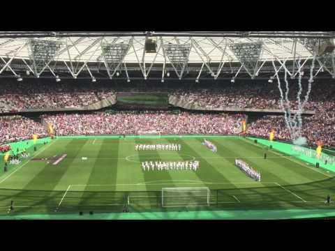 West Ham Olympic Stadium Opening Ceremony