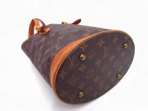 93ab3ae5a Bolsa Louis Vuitton Petit Bucket M4223 Semi Nova original - YouTube