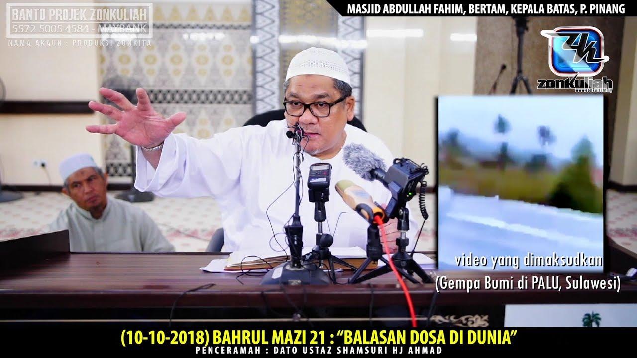 "HD | (101018) | BM21 : ""Bumi Telan Satu Kampung"" - Ustaz Shamsuri Ahmad"