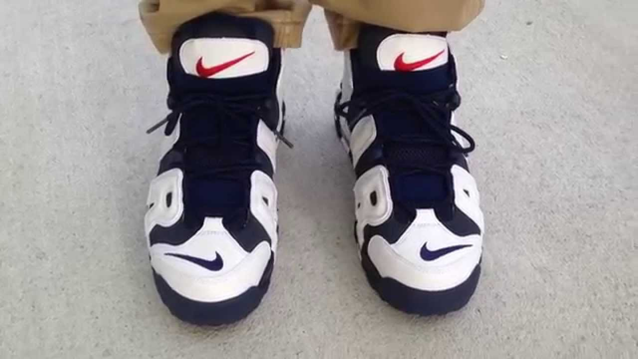 Nike More Uptempo Olympic