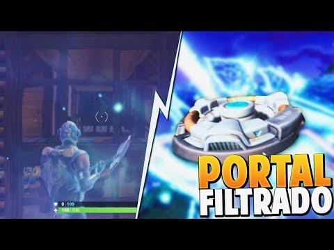 Viajes en el tiempo en fortnite portal filtrado for Fortnite temporada 5 sala