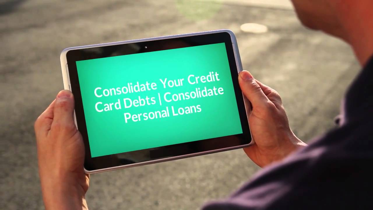 Consolidating credit card debt td bank