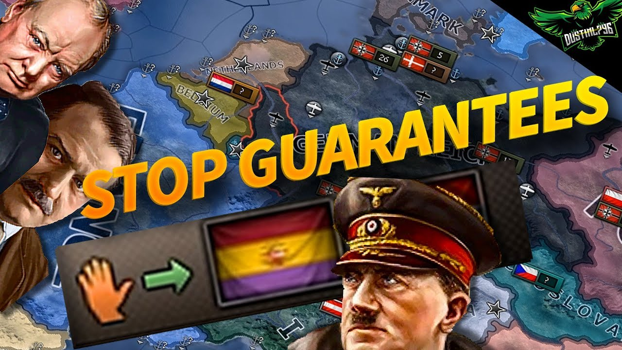 HOI4 Tutorial How to Prevent AI Guarantees (Hearts of Iron 4 Guide)