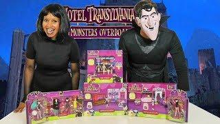 Hotel Transylvania 3 Toy Challenge Drac Vs. Mavis !  || Toy Review || Konas2002