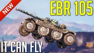 Panhard EBR 105 • It Can FLY! ► World of Tanks Panhard EBR 105 Gameplay - Patch 1.4 Update