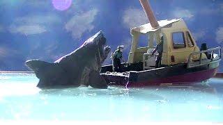 Quint Gets Devoured - Jaws Scene Reenactment [HD]