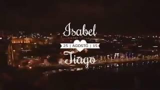 Inédito pedido de casamento na ponte D. Luís com laser no Porto