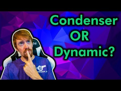 Whats The Best Microphone For Twitch? Dynamic VS Condenser