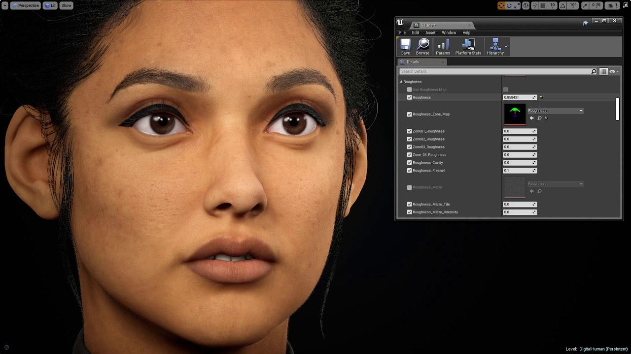 ArtStation - Unreal Face Tutorial, Saurabh Jethani