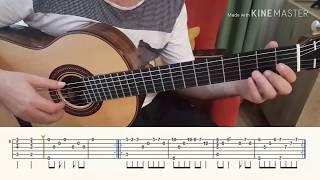 Ezel Dizi Muzigi Fingerstyle Ve Normal Solo Tutorial Youtube