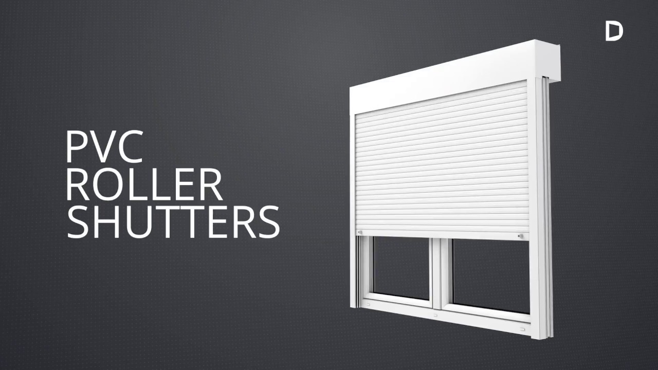 Drutex External Pvc Roller Shutters Youtube