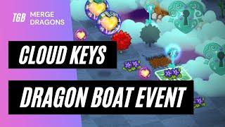 Merge Dragons Dragon Boat Cloud Keys Guide • 5 Minutes ☆☆☆