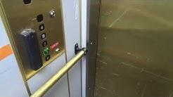 Amazing Old 1965 KONE Pop-Out (Mb KONE M 1989) Tr. Elevators @ Linnankoskenkatu 14, Töölö, HKI, FIN