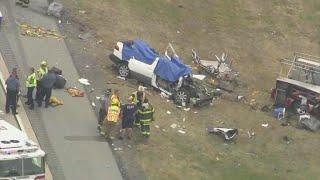 5 family members, including 4 children, killed in Delaware crash, police say