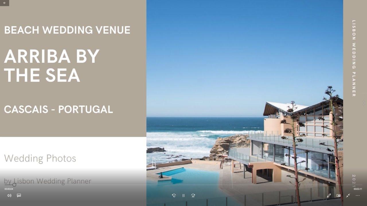 Arriba by the Sea Wedding Photos - by Lisbon Wedding Planner
