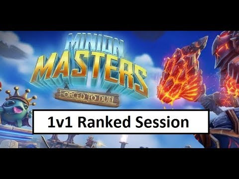 Seeking Grandmaster Part 1 (Minion Masters) - YouTube