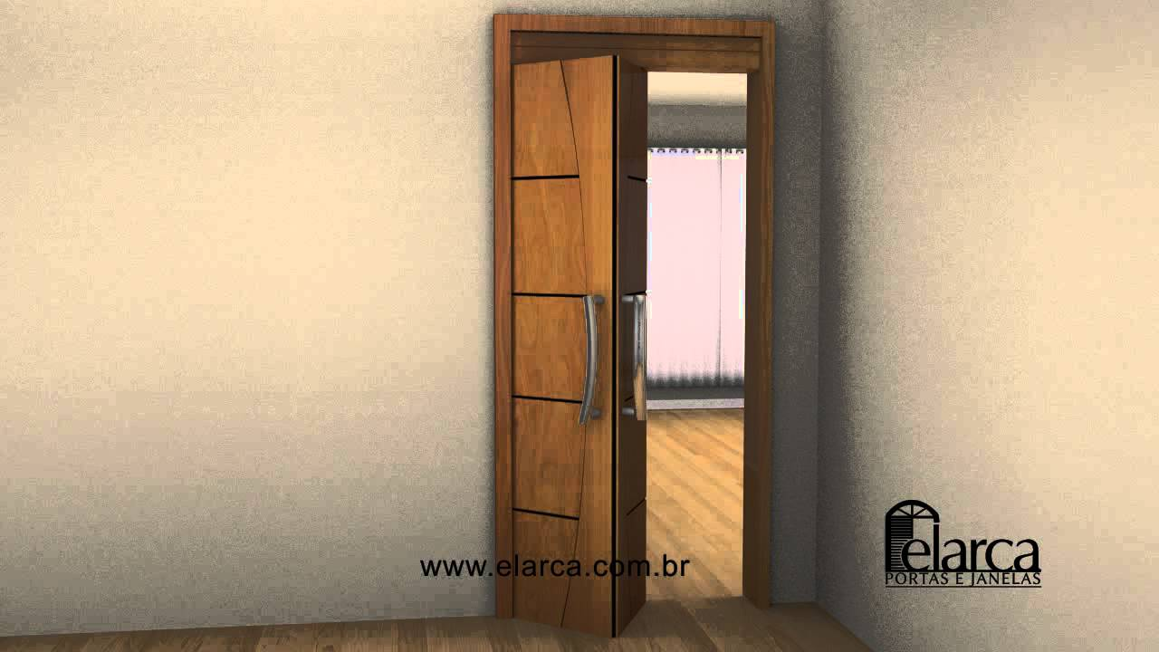 Porta interna madeira camarao frisada youtube - Allargare porta interna ...