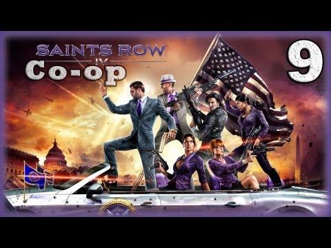Смотреть прохождение игры [Coop] Saints Row IV. Серия 9 - Лаги симуляции. [16+]